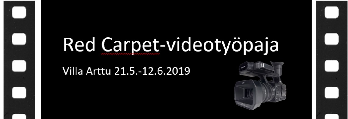 Red Carpet videopaja 2019